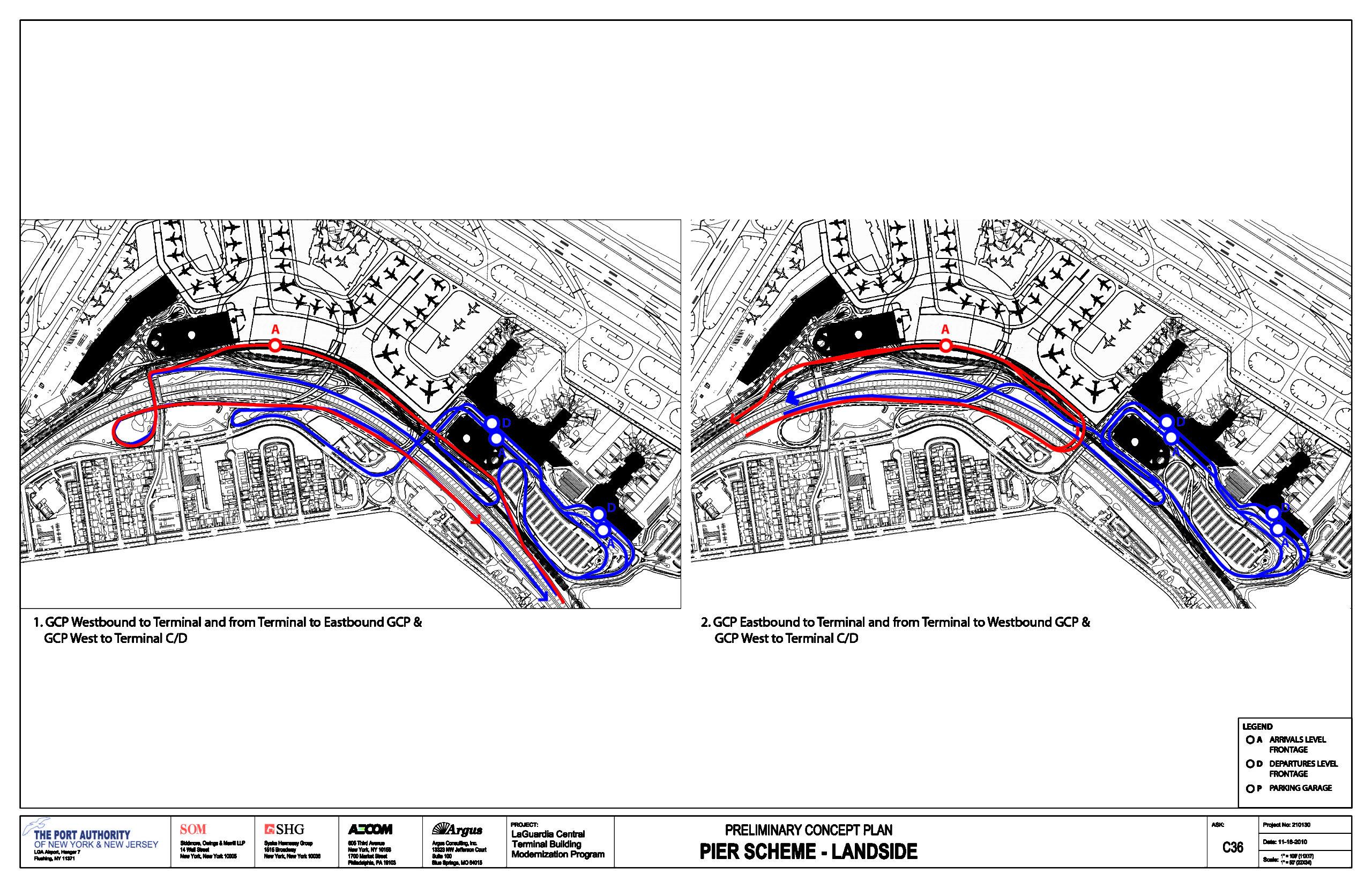 C36 roadway diagrams combined